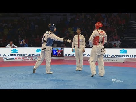 Final F-67 London 2017 World Taekwondo Grand Prix 3 Lauren WILLIAMS (GBR) vs Ruth GBAGBI (CIV)
