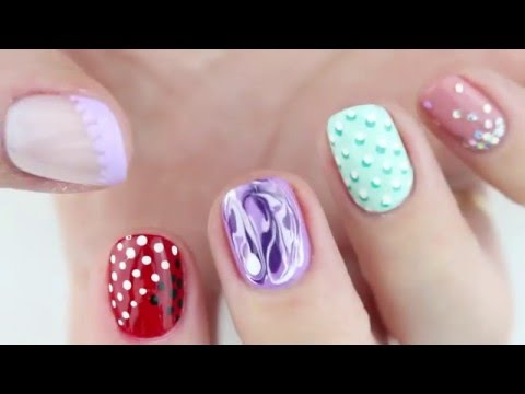 Easy Palm Tree Nail Art (Using A Toothpick!) | How To Save ...