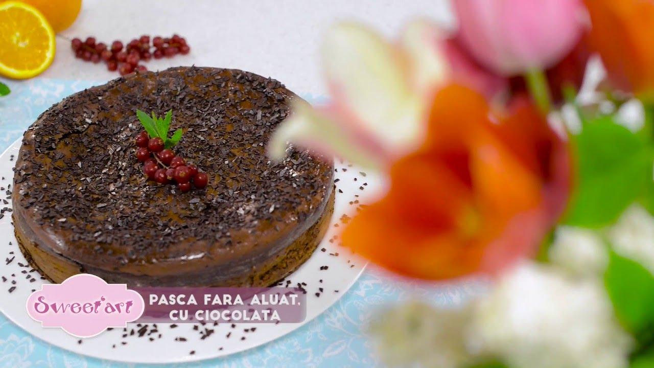 Reteta - Pasca cu ciocolata fara aluat