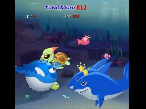 эта игра рыбка ест рыбку!!!!!!!!!