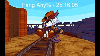 Sonic Robo Blast 2 Speedrun - Fang Any% in 25:16.05