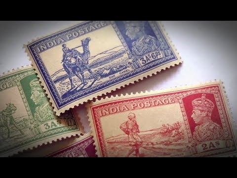 THE INDIAN TALE OF STAMPS