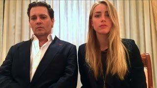 Depp and wife make apology video in end to 'war on terrier'(Johnny Depp and his wife Amber Heard released a video apology Monday for flouting quarantine laws by bringing two dogs into Australia aboard their private ..., 2016-04-18T11:01:55.000Z)