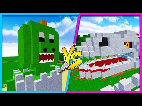 MINECRAFT BOY VS GIRL - THE DINOSAUR CHALLENGE