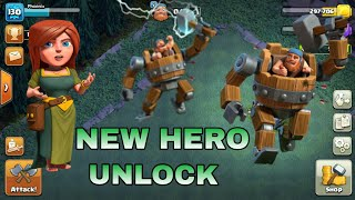 WE DID IT!! ⚡ UNLOCK BATTLE MACHINE!! ⚡ Clash of Clans