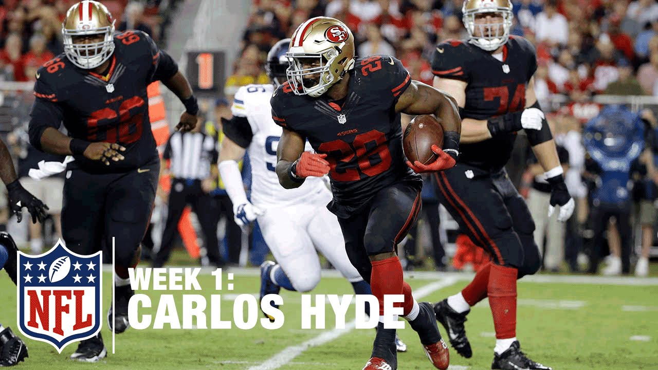 Redskins Gameday: Carlos Hyde touchdown to end half brings 49ers back, trail Redskins 17-7