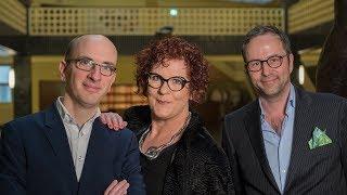 """""""Zwei Männer 3 Welten"""" – Krömer & Friends mit Claudia Schur"""