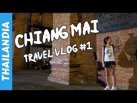 Doi Inthanon e Night Bazar - Chiang Mai - Vacanza in Thailandia 2017 - Travel Vlog #1 🇹🇭