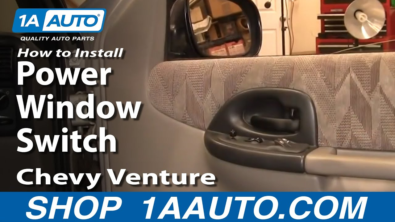 maxresdefault how to install replace power window switch chevy venture pontiac  at n-0.co