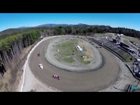 949 Productions: Bear Ridge Speedway Practice Drone Footage