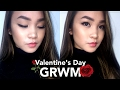 Valentine's Day Makeup & Outfits GRWM ✘ Lisa Phan