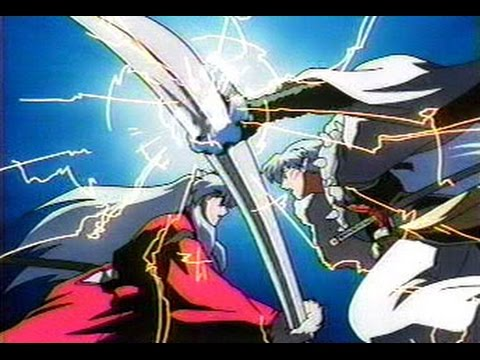 Inuyasha Review Series Episode 34 Tetsusaiga And Tenseiga
