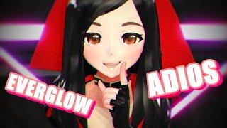 【MMD】EVERGLOW (에버글로우) - Adios