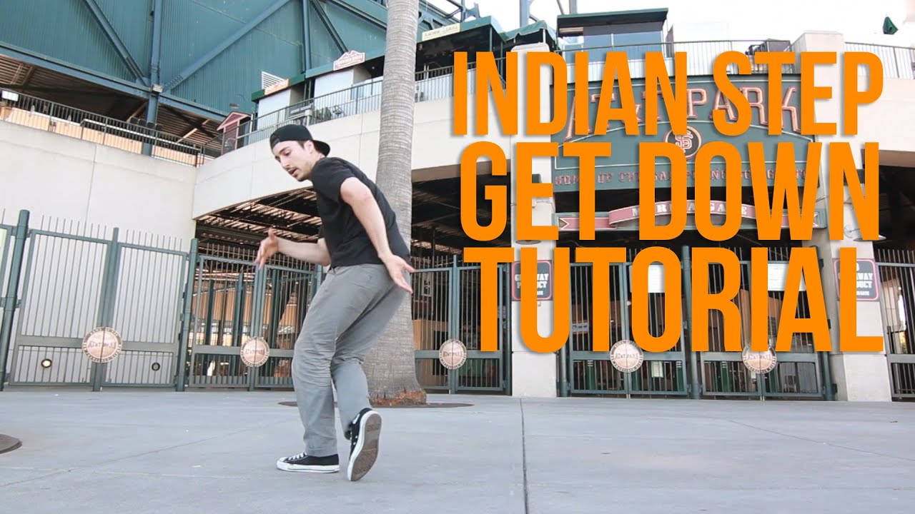 How to Breakdance   Indian Step Get Down   Milestone (Renegade Rockers, San Francisco)
