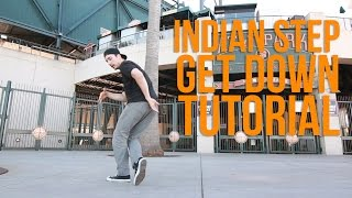 How to Breakdance | Indian Step Get Down | Milestone (Renegade Rockers, San Francisco)
