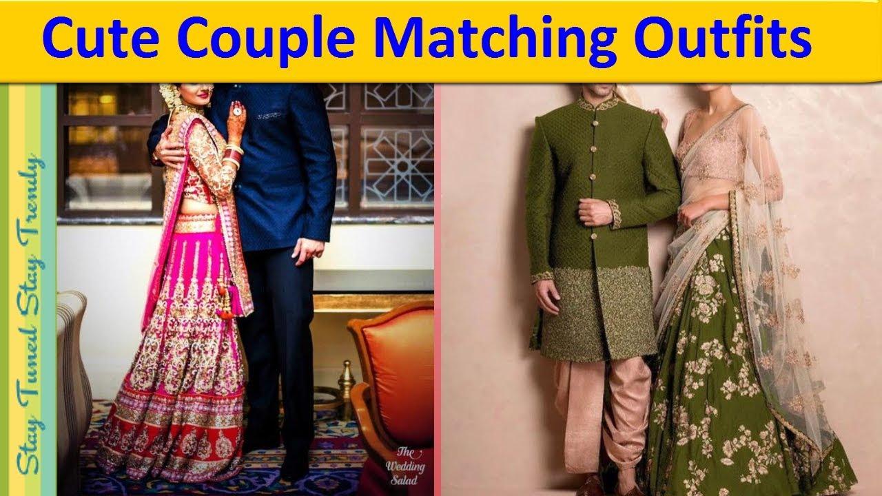 IndoWestern Couple Dress
