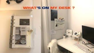 📂화이트 데스크 인테리어 로망 실현🎧 Desk tour, Diary unboxing, journaling, 정고이너사이드, 육공다이어리, journal, vlog