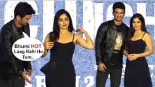 Sushant Singh Rajput FLIRTS With Bhumi Pednekar At Sonchiraiya Trailer Launch