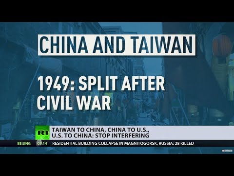 Taiwan to China, China to US, US to China: Stop interfering