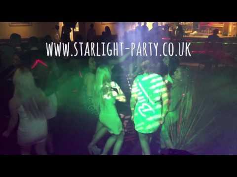 Amy's 18th Birthday Party - starlight disco
