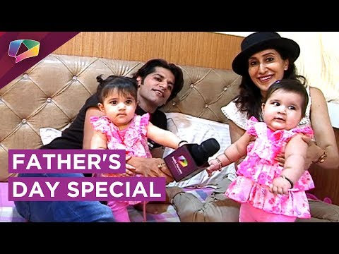 Karanvir Bohra And Teejay's Special Interview With Their Daughters | EXCLUSIVE Father's Day Special