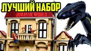 LEGO Мир Юрского периода 2 Индораптор Нападение в поместье Локвуд 75930 Обзор