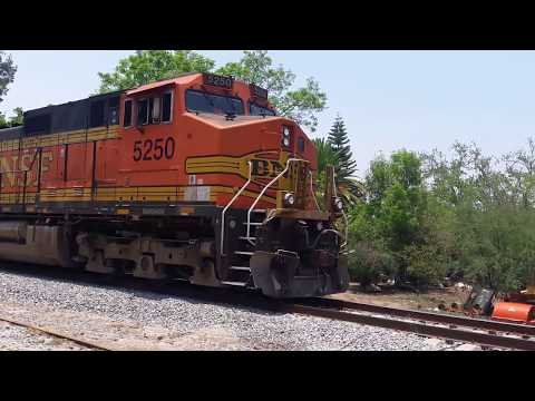 Two GE Dash 9-44CW In La Capilla, Jalisco!