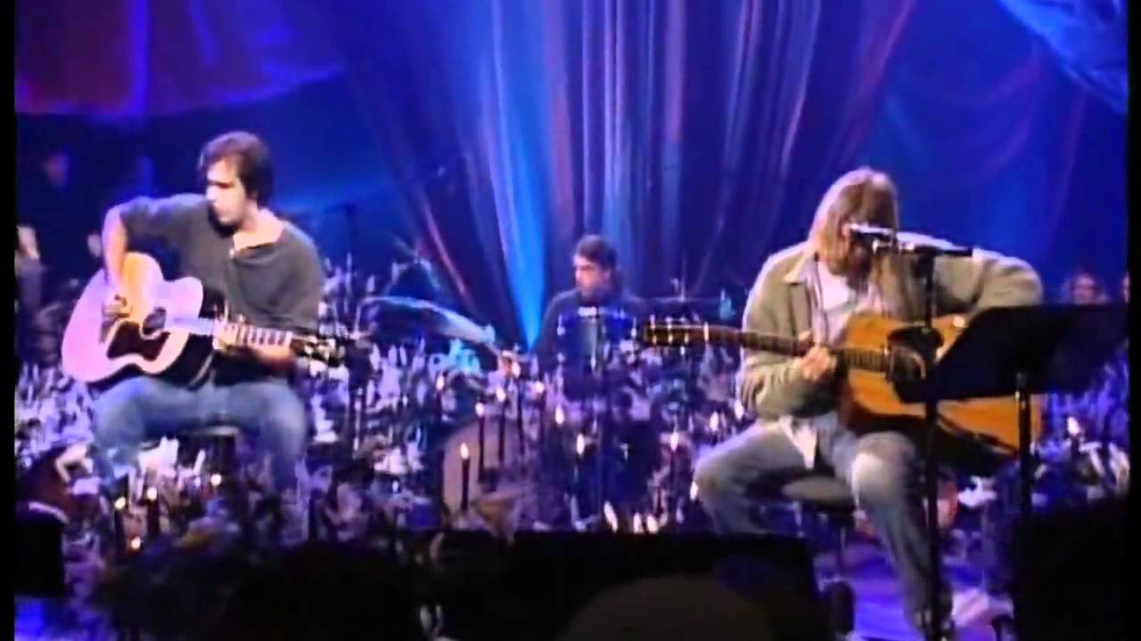 Nirvana Come As You Are Mtv Unplugged Hd Youtube