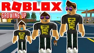 FROM BABY TO BIG! -ROBLOX Growing Up Danish Ep 1