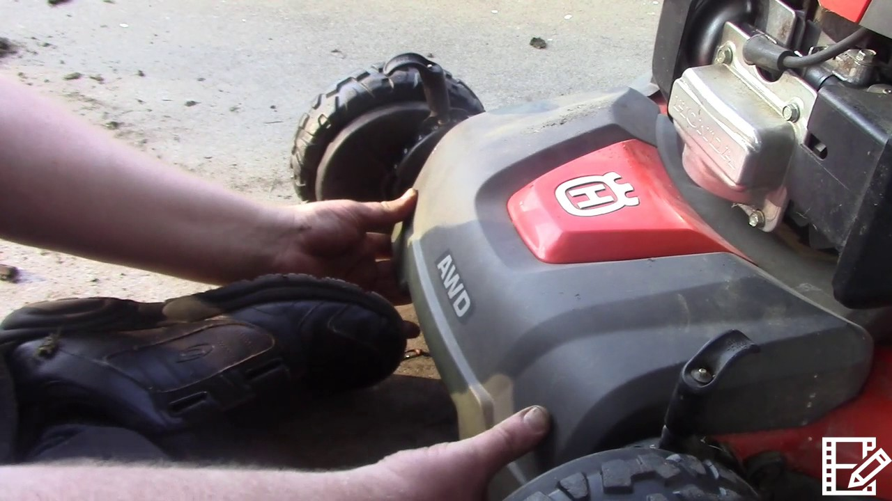 hight resolution of husqvarna awd mower belt replacement part 4 of the transmission replacement video series