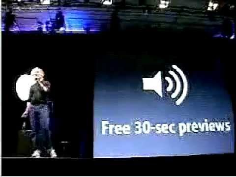 #05 Steve Jobs Keynote iTunes Music Store Intro 2003-005