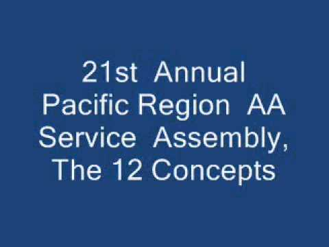 12 Concepts --- 21st Annual Pacific Region AA Service Assembly