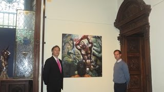 ALEXANDER KANEVSKY PAINTINGS in MUSEUMS of ITALY