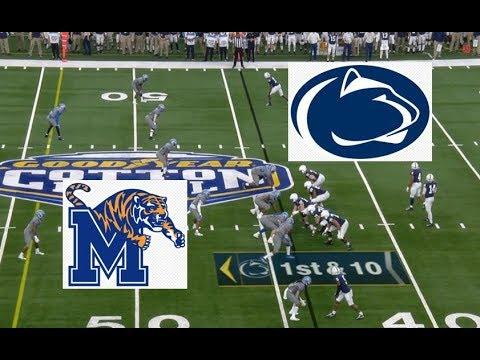 Memphis Vs Penn State Football Bowl Game 12 28 2019