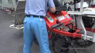 【メンテナンス】クボタ乗用田植機(4条)クボタ SPK45 HDH 稼働テストとグリスアップ