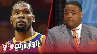 Warriors diminished their dynasty by recruiting KD — Jason Whitlock | NBA | SPEAK FOR YOURSELF