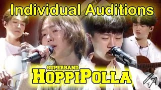 Hoppipolla SOLO auditions in JTBC SuperBand (I