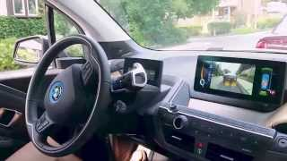 How to use parking assist on the BMW i3