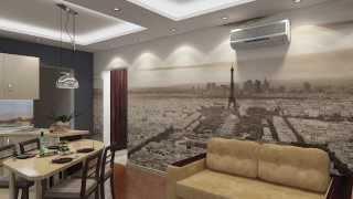 Дизайн проект двухкомнатной квартиры серии п 44т г. Москва(, 2014-02-19T19:14:04.000Z)