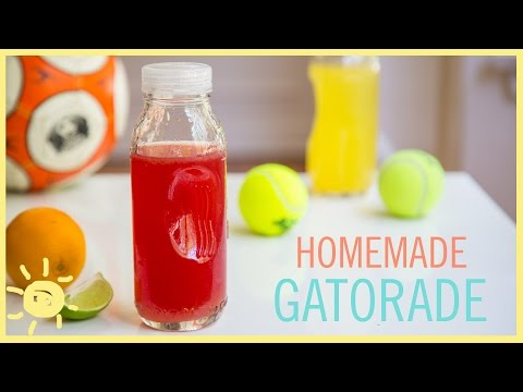 EAT | Homemade Gatorade
