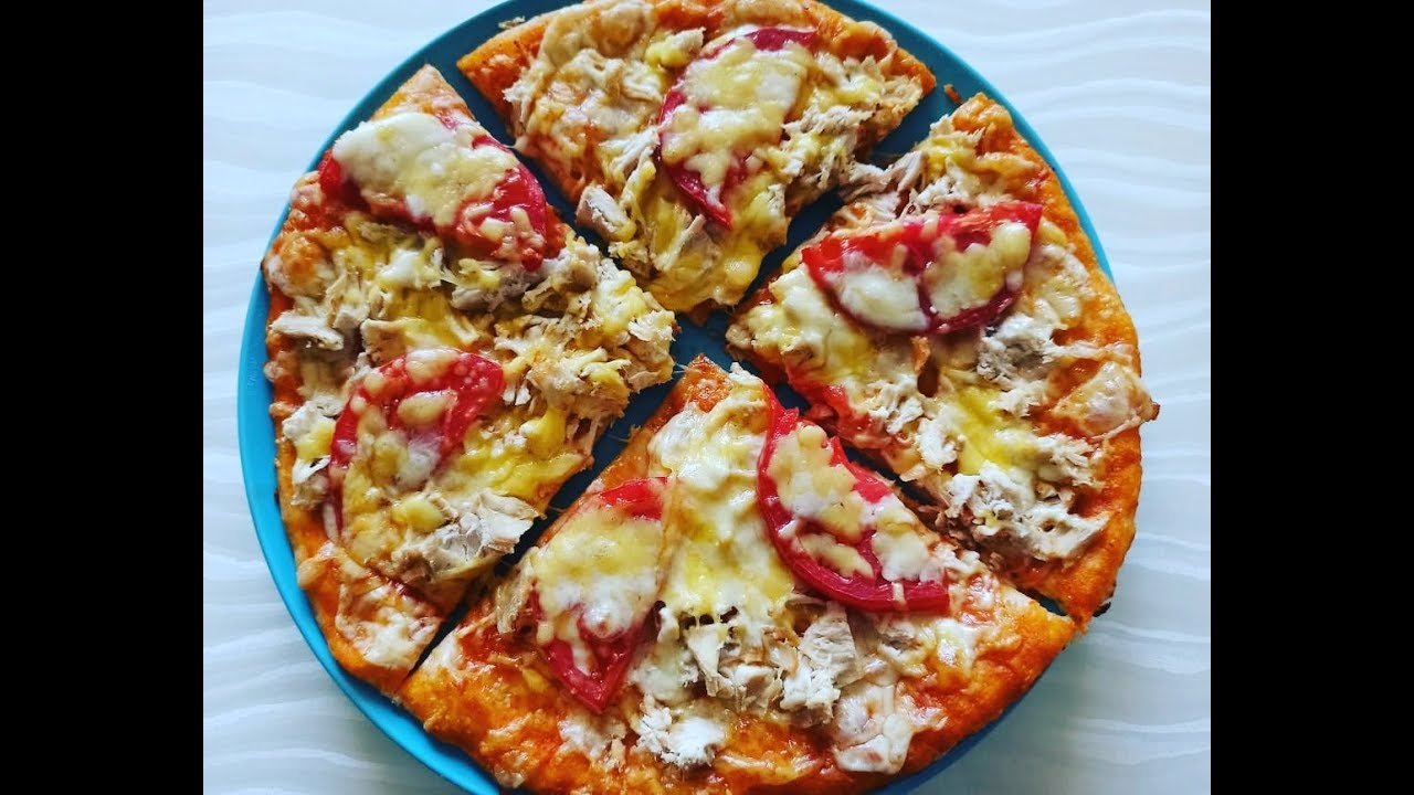 Pizza En Asan Pizza Xemiri Toyuqlu Pizza Resepti Pizza Youtube