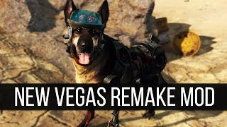 Some More Update on the Ambitious Fallout: New Vegas Remake Mod & Other DLC Sized Mods