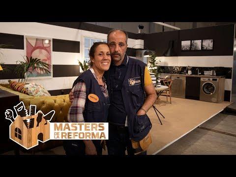 """El apartamento de José e Iratxe: """"Sois muy efectistas con la decoración"""" - Masters de la reforma"""
