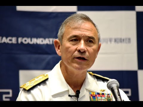 Lecture by Admiral Harry B. Harris, Jr., Commander of the Un