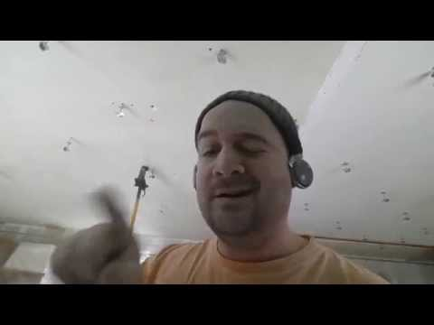 placo comment faire un plafond en plaque de pl tre youtube. Black Bedroom Furniture Sets. Home Design Ideas