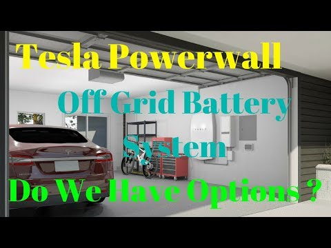 Off Grid Living- DIY Tesla Power Wall ? Simpliphi - Tesla Mo