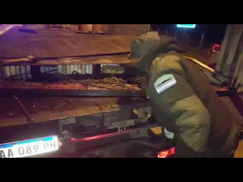 Video Gendarmeria Droga Venado Tuerto