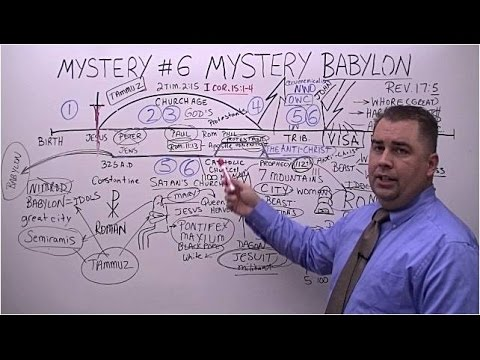 Seven Mysteries in the Bible, Mystery 6 Mystery Babylon