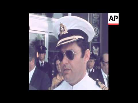SYND 27 5 73 INTERVIEW WITH CAPTAIN OF MUTINEERED GREEK SHIP