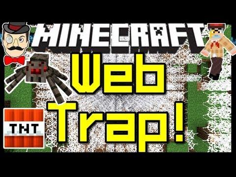 how to make a cobweb minecraft